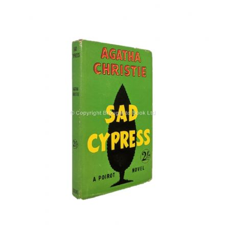Sad Cypress by Agatha Christie Reprint The Crime Club Collins 1951